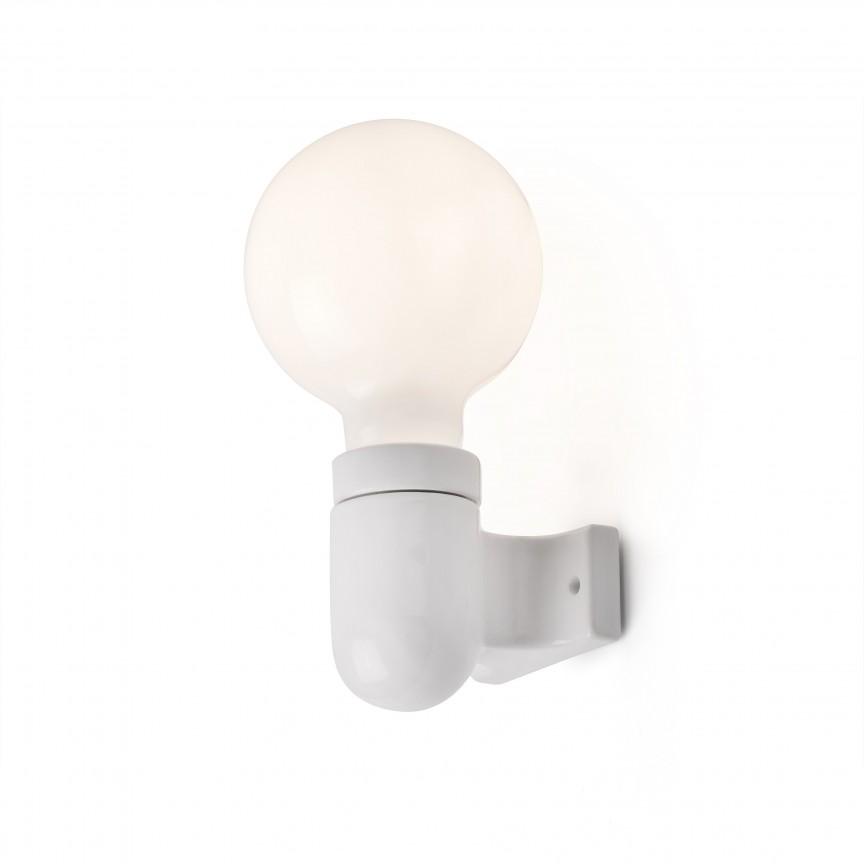 Aplica moderna design minimalist SERA alba , Aplice de perete simple,  a
