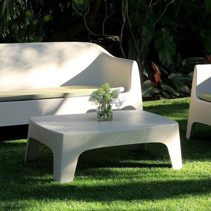 Masuta cafea de exterior / interior design modern premium SOLID COFFEE TABLE 55026 Vondom, Mobilier terasa si gradina,  a