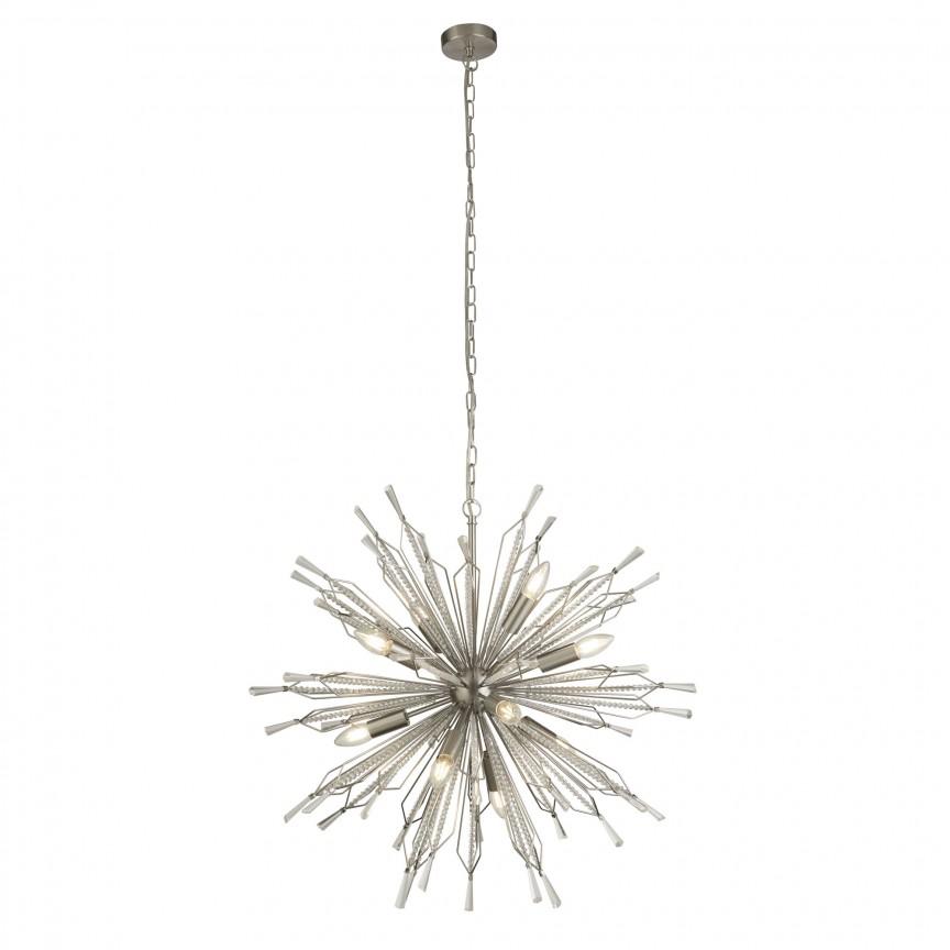Lustra suspendata design modern Starburst 8610-10SS SRT, Candelabre, Lustre moderne,  a