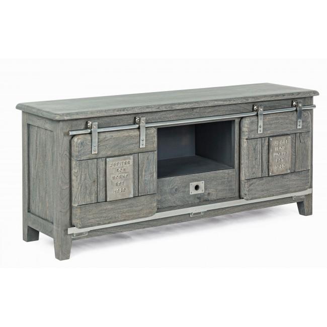 Comoda TV design industrial JUPITER, lemn gri 0746581 BZ, Cele mai noi produse 2020 a