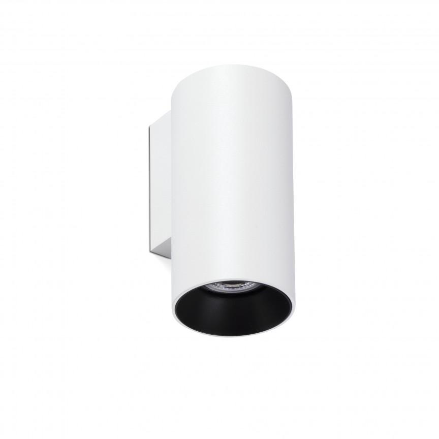 Aplica perete ambientala design modern STAN alba, Aplice de perete simple,  a