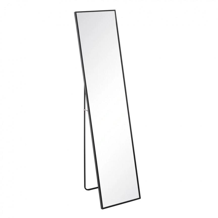 Oglinda de podea cu rama metalica Black 35x151cm SX-106734, Oglinzi decorative , moderne✅ decoratiuni de perete cu oglinda⭐ modele mari si rotunde pentru Hol, Living, Dormitor si Baie.❤️Promotii la oglinzi cu design decorativ❗ Intra si vezi poze ✚ pret ➽ www.evalight.ro. ➽ sursa ta de inspiratie online❗ Alege oglinzi deosebite Art Deco de lux pentru decorare casa, fabricate de branduri renumite. Aici gasesti cele mai frumoase si rafinate obiecte de decor cu stil contemporan unicat, oglinzi elegante cu suport de prindere pe perete, de masa sau de podea potrivite pt dresing, cu rama din metal cu aspect antichizat sau lemn de culoare aurie, sticla argintie in diferite forme: oglinzi in forma de soare, hexagonale tip fagure hexagon, ovale, patrate mici, rectangulara sau dreptunghiulara, design original exclusivist: industrial style, retro, vintage (produse manual handmade), scandinav nordic, clasic, baroc, glamour, romantic, rustic, minimalist. Tendinte si idei actuale de designer pentru amenajari interioare premium Top 2020❗ Oferte si reduceri speciale cu vanzare rapida din stoc, oglinzi de calitate la cel mai bun pret. a