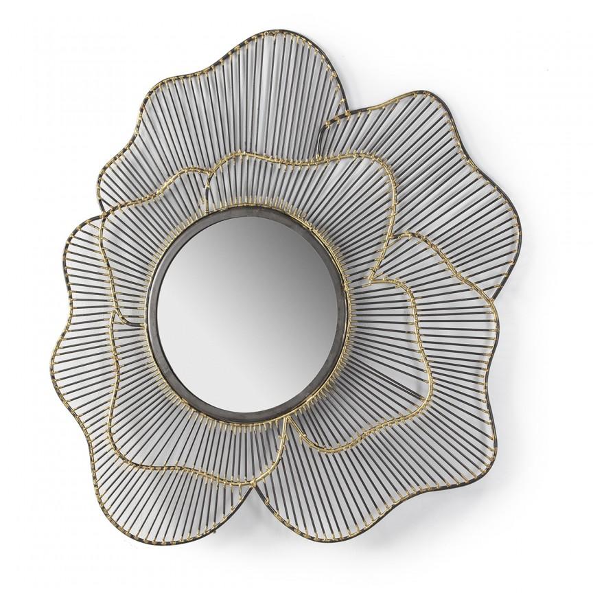 Oglinda de perete decorativa Golden/Nickel 31556/00 TN, Oglinzi decorative , moderne✅ decoratiuni de perete cu oglinda⭐ modele mari si rotunde pentru Hol, Living, Dormitor si Baie.❤️Promotii la oglinzi cu design decorativ❗ Intra si vezi poze ✚ pret ➽ www.evalight.ro. ➽ sursa ta de inspiratie online❗ Alege oglinzi deosebite Art Deco de lux pentru decorare casa, fabricate de branduri renumite. Aici gasesti cele mai frumoase si rafinate obiecte de decor cu stil contemporan unicat, oglinzi elegante cu suport de prindere pe perete, de masa sau de podea potrivite pt dresing, cu rama din metal cu aspect antichizat sau lemn de culoare aurie, sticla argintie in diferite forme: oglinzi in forma de soare, hexagonale tip fagure hexagon, ovale, patrate mici, rectangulara sau dreptunghiulara, design original exclusivist: industrial style, retro, vintage (produse manual handmade), scandinav nordic, clasic, baroc, glamour, romantic, rustic, minimalist. Tendinte si idei actuale de designer pentru amenajari interioare premium Top 2020❗ Oferte si reduceri speciale cu vanzare rapida din stoc, oglinzi de calitate la cel mai bun pret. a