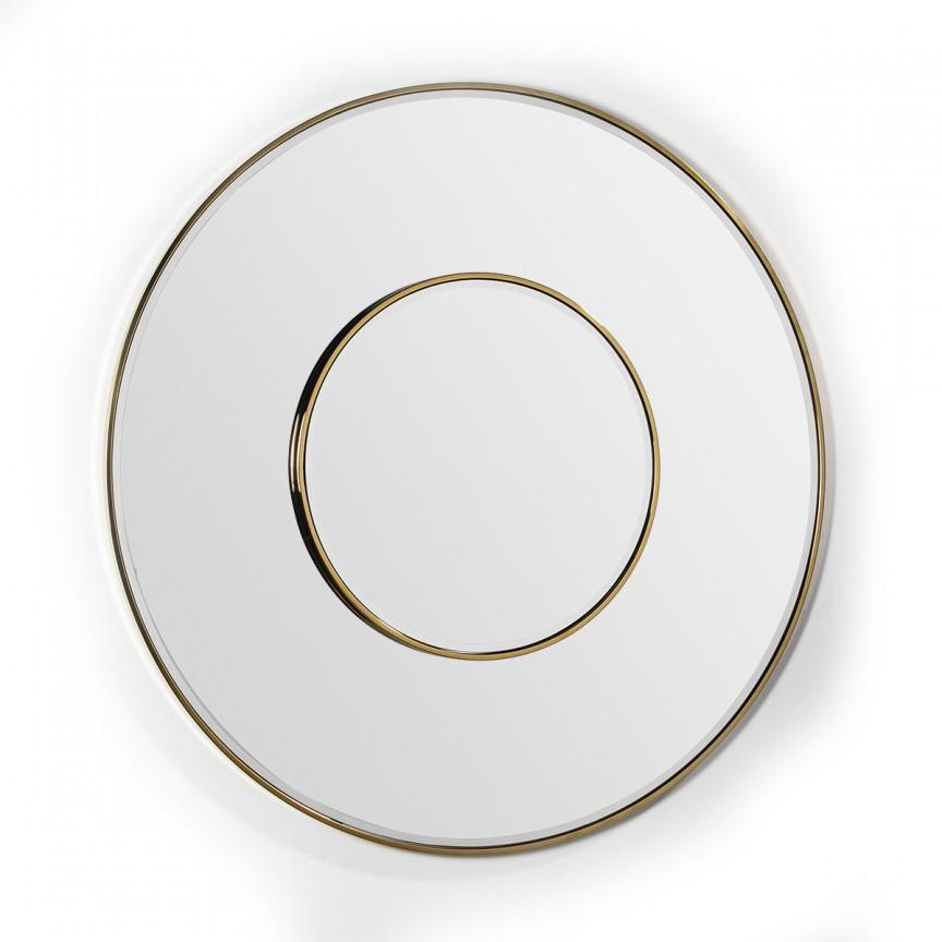 Oglinda de perete decorativa Gold 120cm 36631/00 TN, Oglinzi decorative , moderne✅ decoratiuni de perete cu oglinda⭐ modele mari si rotunde pentru Hol, Living, Dormitor si Baie.❤️Promotii la oglinzi cu design decorativ❗ Intra si vezi poze ✚ pret ➽ www.evalight.ro. ➽ sursa ta de inspiratie online❗ Alege oglinzi deosebite Art Deco de lux pentru decorare casa, fabricate de branduri renumite. Aici gasesti cele mai frumoase si rafinate obiecte de decor cu stil contemporan unicat, oglinzi elegante cu suport de prindere pe perete, de masa sau de podea potrivite pt dresing, cu rama din metal cu aspect antichizat sau lemn de culoare aurie, sticla argintie in diferite forme: oglinzi in forma de soare, hexagonale tip fagure hexagon, ovale, patrate mici, rectangulara sau dreptunghiulara, design original exclusivist: industrial style, retro, vintage (produse manual handmade), scandinav nordic, clasic, baroc, glamour, romantic, rustic, minimalist. Tendinte si idei actuale de designer pentru amenajari interioare premium Top 2020❗ Oferte si reduceri speciale cu vanzare rapida din stoc, oglinzi de calitate la cel mai bun pret. a