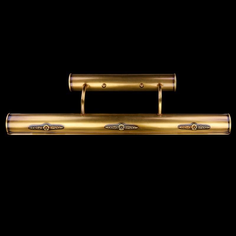 Aplica din alama pentru oglinda tablou SERAFINA III. , Aplice pentru baie / oglinda / tablou, LED⭐ modele moderne rezistente la apa potrivite in baie. ✅Design premium actual Top 2020! ❤️Promotii lampi❗ ➽ www.evalight.ro. Alege oferte la corpuri de iluminat interior pt perete baie si tavan (plafon) cu protectie la umiditate, ieftine sau de lux, calitate deosebita la cel mai bun pret! a