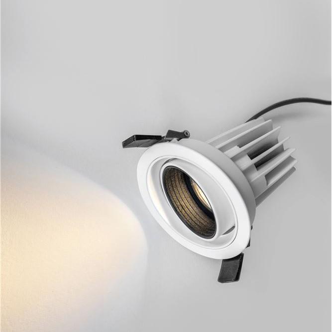 Spot LED directionabil, incastrabil pentru tavan fals, MEA alb NVL-7770441, Spoturi incastrate tavan / perete, LED⭐ modele moderne pentru baie, living, dormitor, bucatarie, hol.✅Design decorativ 2021!❤️Promotii lampi❗ ➽ www.evalight.ro. Alege oferte la colectile NOI de corpuri de iluminat interior de tip spot-uri incastrabile cu LED, cu lumina calda, alba rece sau neutra, montare in tavanul fals rigips, mobila, pardoseala, beton, ieftine de calitate la cel mai bun pret. a