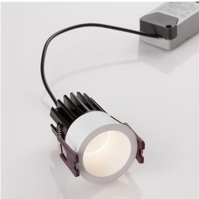 Spot LED incastrabil pentru tavan fals BREE alb NVL-9232111, Spoturi LED incastrate, aplicate,  a