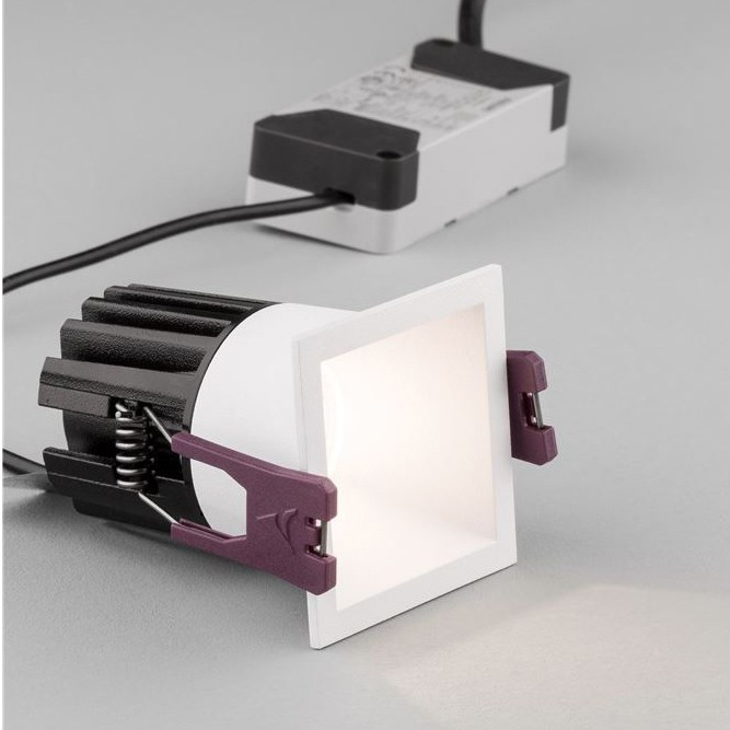 Spot LED incastrabil pentru tavan fals BREE alb NVL-9232113, Spoturi LED incastrate, aplicate,  a