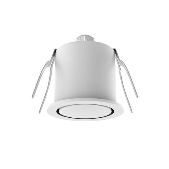 Spot LED incastrabil ideal pentru iluminat scara sau hol Natal alb NVL-6800202, Spoturi incastrate - tavan fals / perete,  a