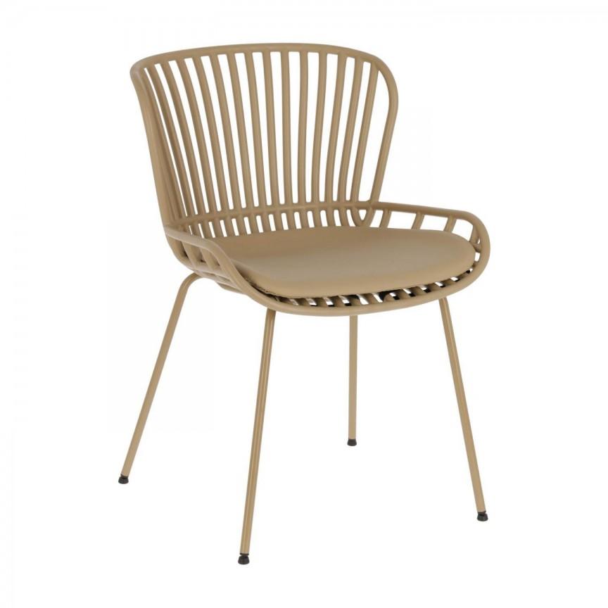 Scaun elegant design modern bej Surpik CC1745S12 JG, Scaune dining ,  a