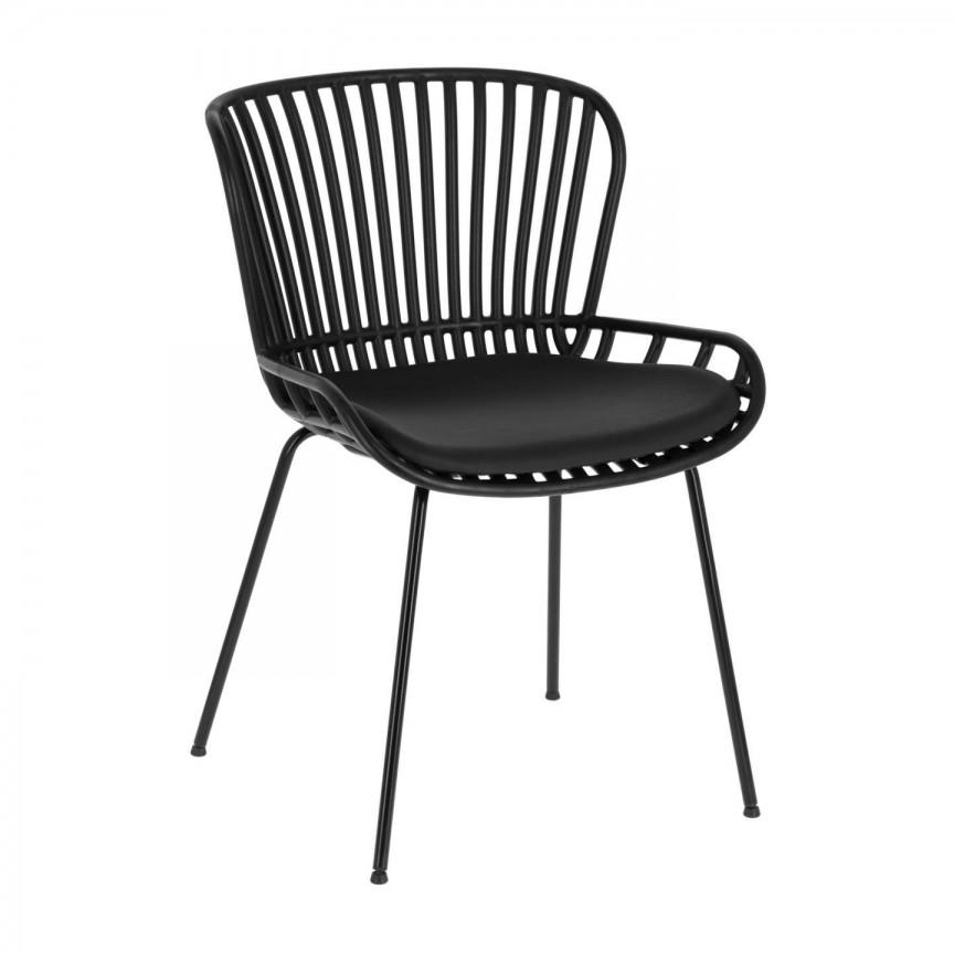 Scaun elegant design modern negru Surpik CC1745S02 JG, Scaune dining ,  a