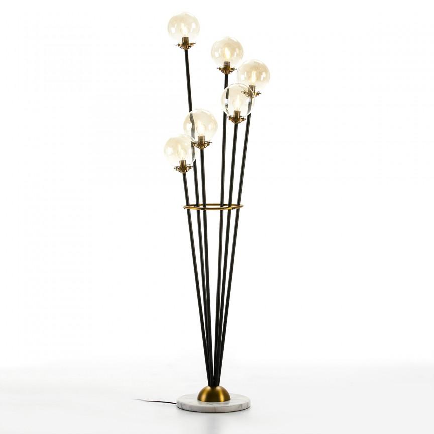 Lampadar/ Lampa de podea design modern Golden/Black 62646/00 TN, Lampadare,  a