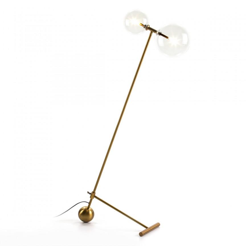 Lampadar/ Lampa de podea design minimalist Golden 62656/00 TN , Lampadare,  a
