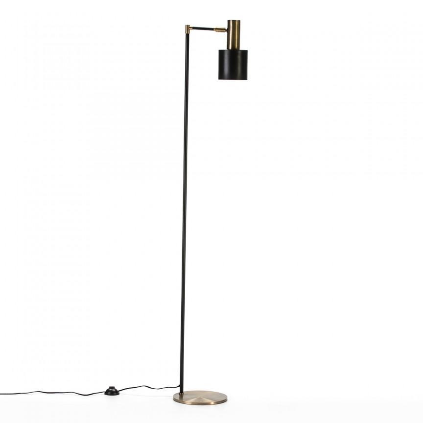 Lampadar/ Lampa de podea design industrial Golden/Black 65808/00 TN, Lampadare,  a