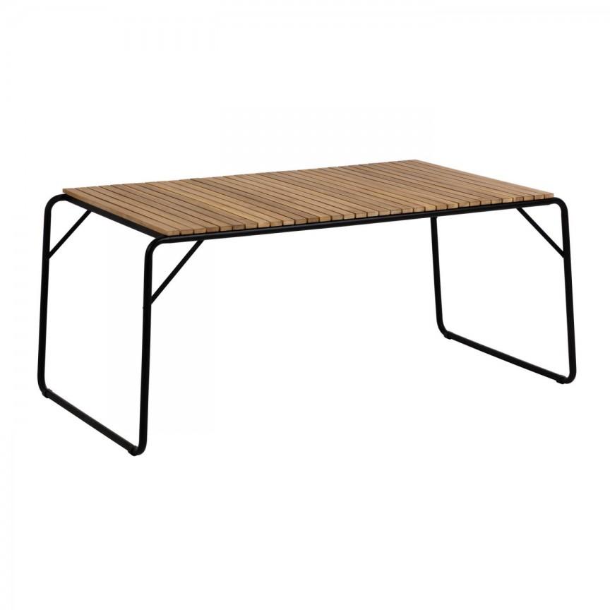 Masa din lemn pentru interior si exterior Yukari CC1725M46 JG, Mobilier terasa si gradina,  a