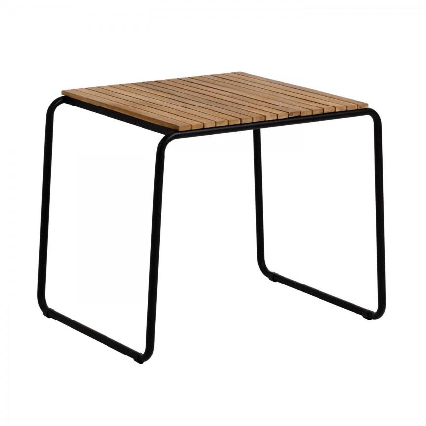 Masa din lemn pentru interior si exterior Yukari 84x70cm CC1726M46 JG, Mobilier terasa si gradina,  a