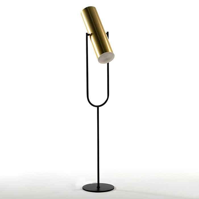Lampadar/ Lampa de podea design industrial Gold/ Black 18208/00 TN, Lampadare,  a
