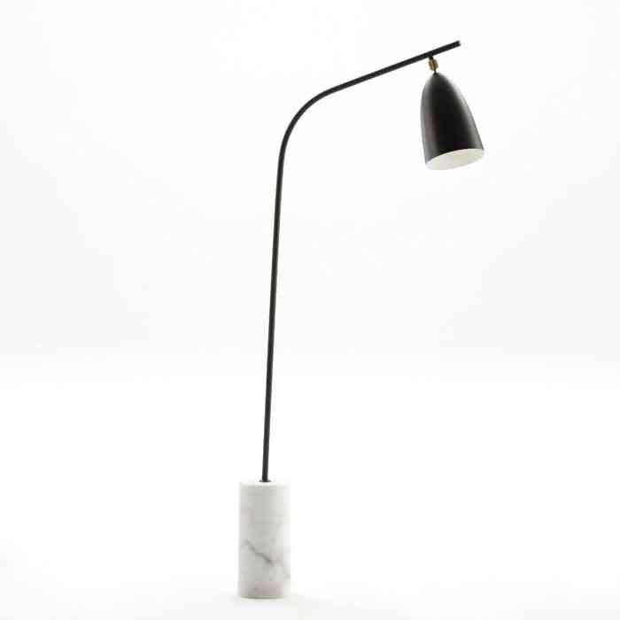 Lampadar/ Lampa de podea design modern Thalia, negru 18195/00 TN, Lampadare,  a