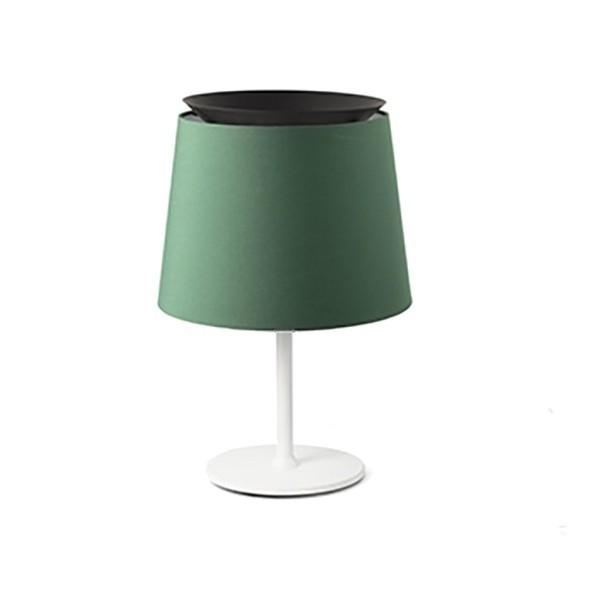 Lampa de masa / Veioza moderna design elegant SAVOY alb/verde, Veioze, Lampi de masa,  a