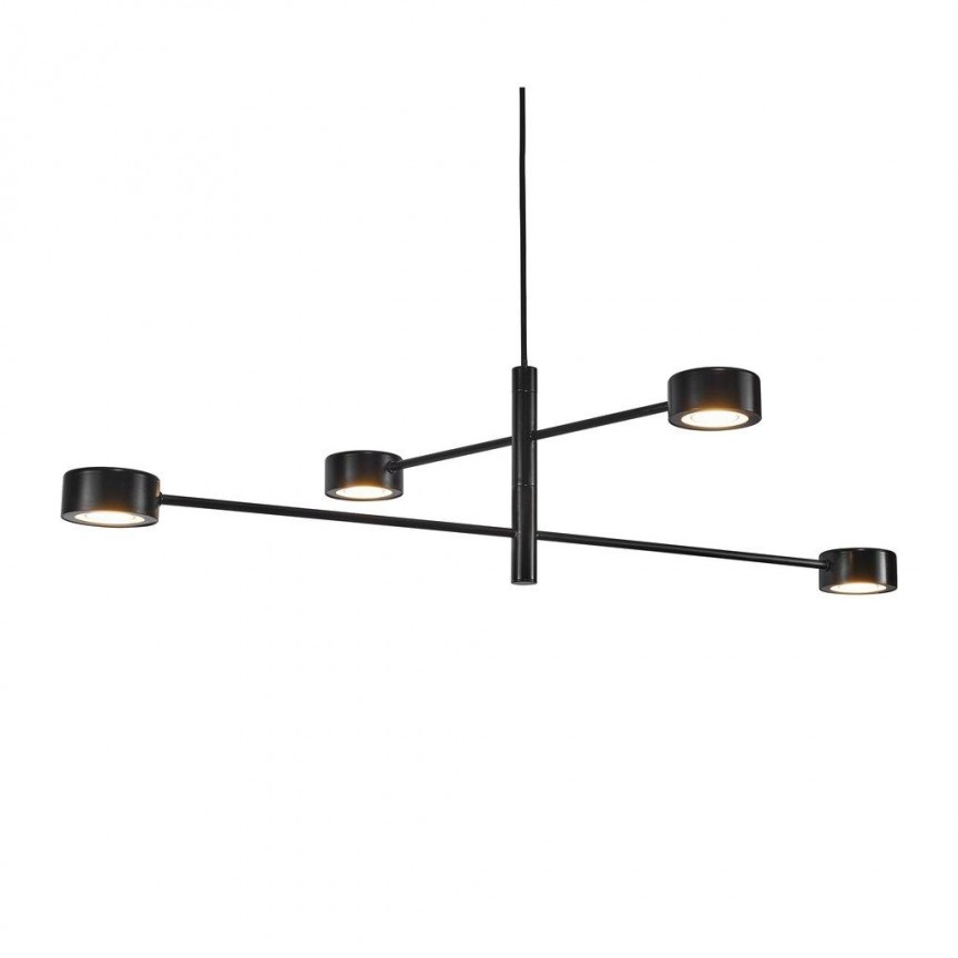 Lustra LED cu 4 brate design nordic Clyde 2010803003 NL, Candelabre, Lustre moderne,  a