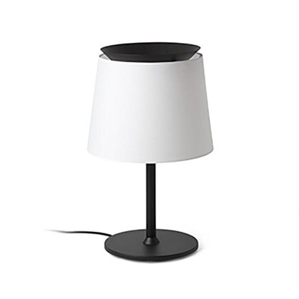 Lampa de masa / Veioza moderna design elegant SAVOY negru/alb , Veioze, Lampi de masa,  a