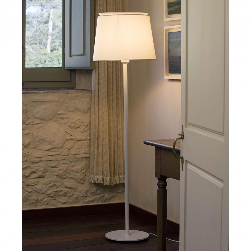 Lampadar / Lampa de podea moderna design elegant SAVOY alba, Lampadare,  a