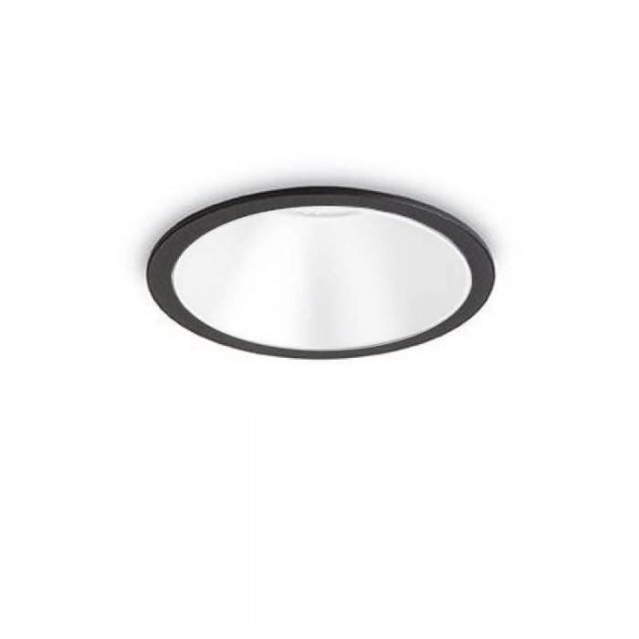 Spot LED incastrabil GAME FI1 ROUND negru/ alb 192338 IDL, Spoturi incastrate - tavan fals / perete,  a