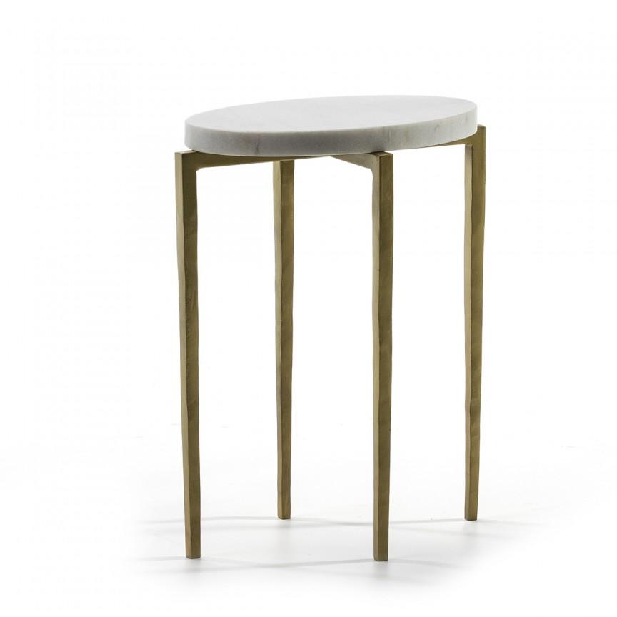 Masuta laterala eleganta design deosebit Golden 68396/00 TN, Masute de cafea,  a