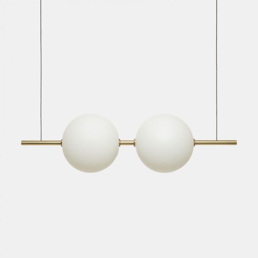 Lustra LED design LUX sfere de lumina suspendate Alma 282.02.ON, Lustre LED, Pendule LED,  a