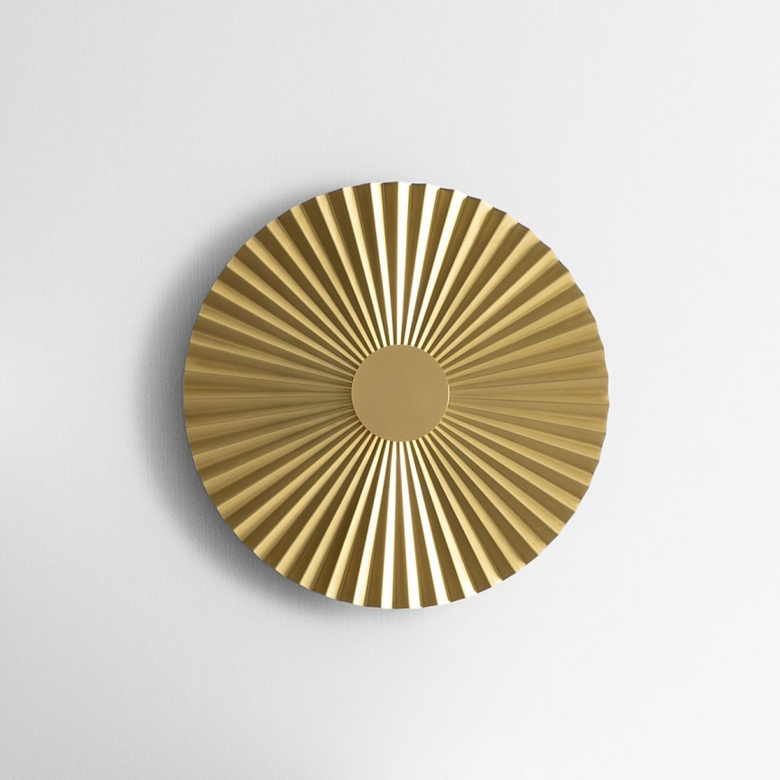 Aplica LED design LUX cu efect plisat PLIE' 39cm 284.04.ON, Aplice de perete LED,  a