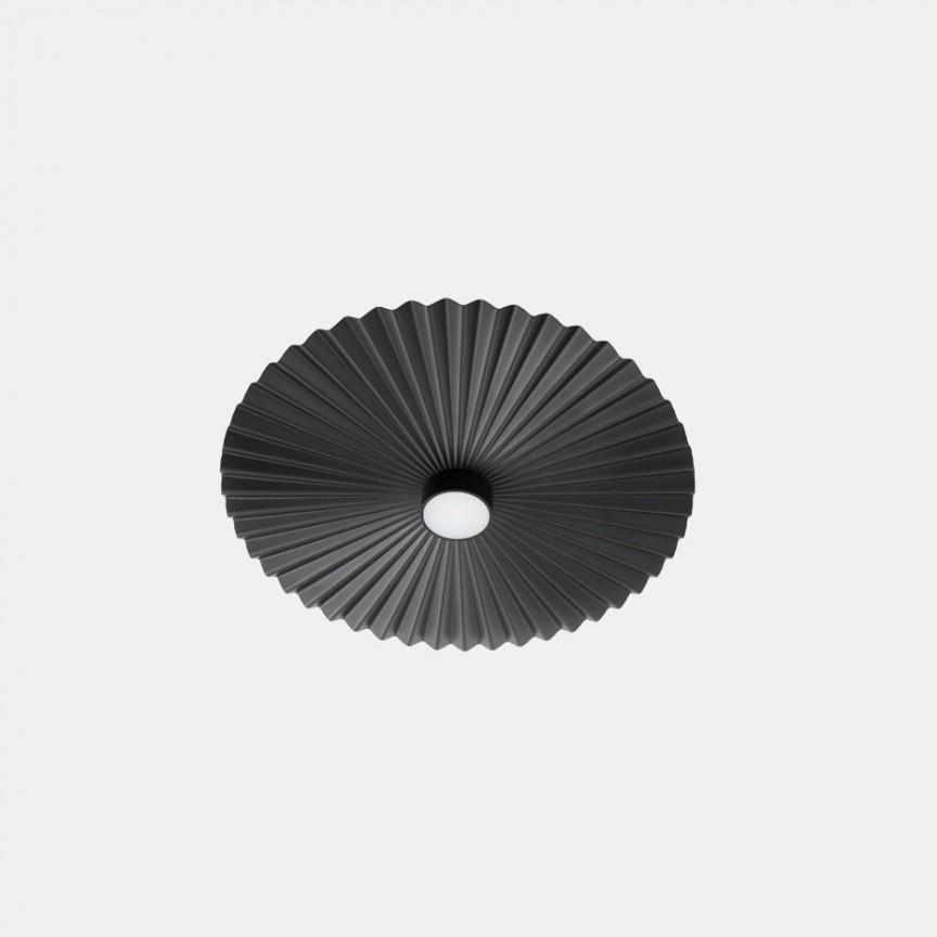 Plafoniera LED design LUX cu efect plisat PLIE' 39cm 284.06.NN, ILUMINAT INTERIOR LED ,  a