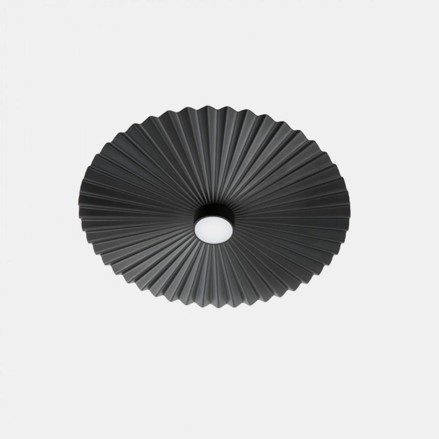 Plafoniera LED design LUX cu efect plisat PLIE' 49cm 284.07.NN, ILUMINAT INTERIOR LED ,  a