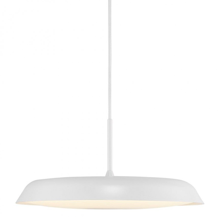Lustra LED suspendata design modern minimalist Piso alb 2010763001 NL, Lustre LED, Pendule LED,  a