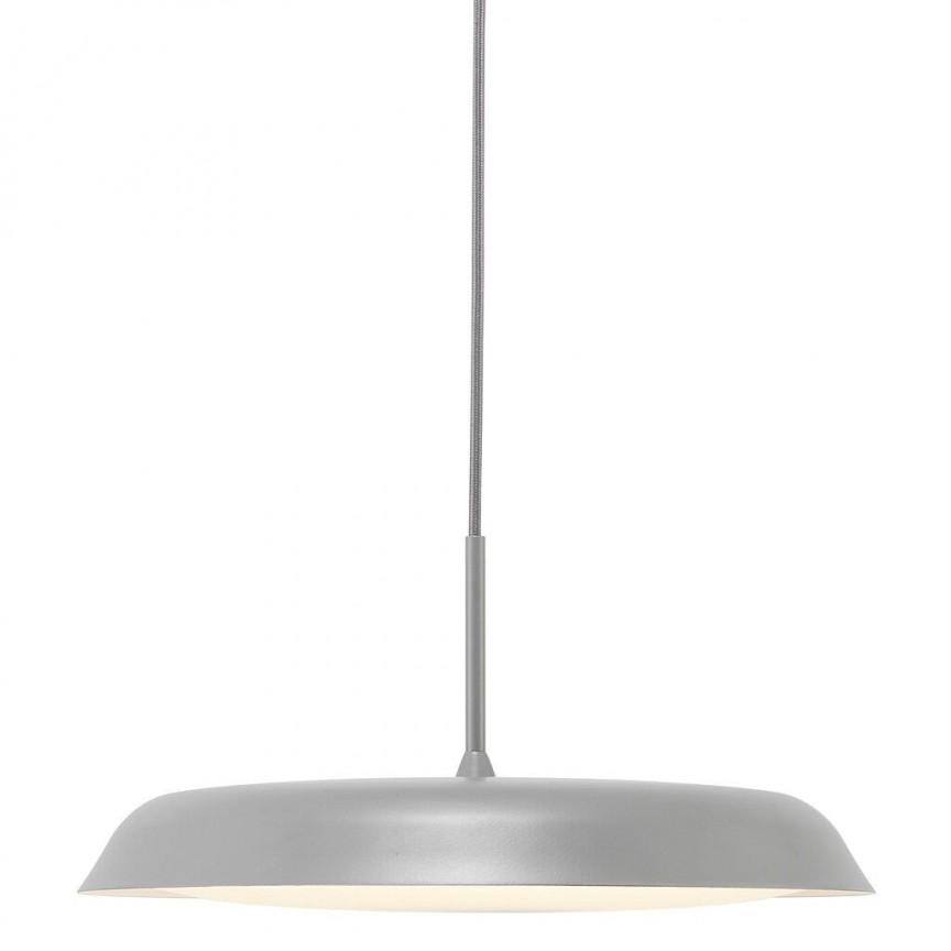 Lustra LED suspendata design modern minimalist Piso gri 2010763010 NL, Lustre LED, Pendule LED,  a