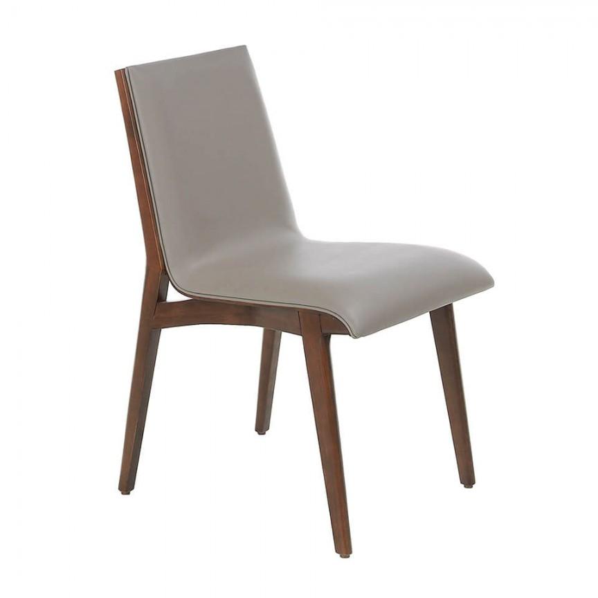 Scaun elegant design italian Wood AC 4070-CH1511, Mobila si Decoratiuni,  a