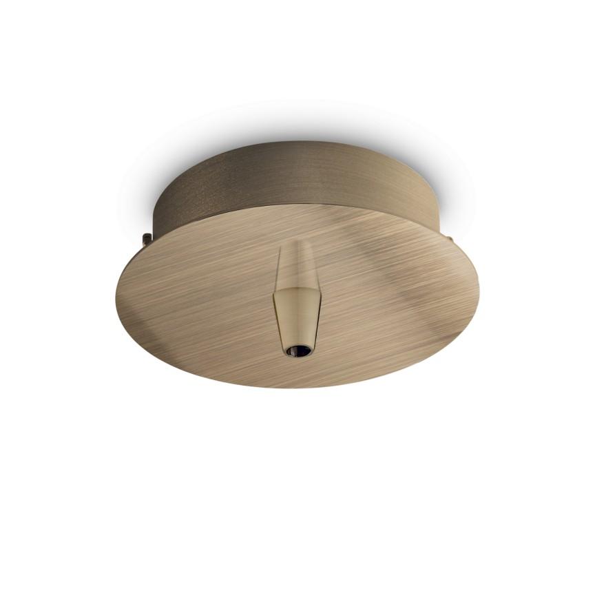 Accesoriu, baza de prindere pe tavan ROSONE METALLO 1 LUCE OTTONE BRUNITO 249261 IDL, Accesorii Corpuri de iluminat piese de schimb pentru Lustre de interior si exterior.⭐Cumpara online✅ Livrare Rapida!❤️Promotii la accesorii pt lampi❗ Abajururi de rezerva si cabluri potrivite pentru candelabre, pendule suspendate, aplice de perete, plafoniere de tavan, spoturi LED incastrate si aplicate, veioze de masa si birou, lampadare de podea, drivere si conectori sina, dulii si transformatoare electrice. Alege oferte speciale la accesorile de iluminat din casa: baie, living, bucatarie, dormitor, terasa, hol, balcon si gradina❗ Cele mai bune componente de iluminat tehnic pt surse de iluminat, kituri de suspensie, benzi LED, brate, elemente decorative cristal si farfurioare din material (ceramica, sticla, plastic, aluminiu, tesatura, textil, metal, lemn), proiectoare si reflectoare pt spot-uri reglabile cu flux luminos directionabil, ieftine si de lux, cu garantie si de calitate deosebita. Cumpara la comanda sau din stoc, oferte si reduceri speciale cu vanzare rapida din magazine la cele mai bune preturi. Te aşteptăm sa admiri calitatea superioara a produselor noastre live în showroom-urile noastre din Bucuresti si Timisoara❗ a