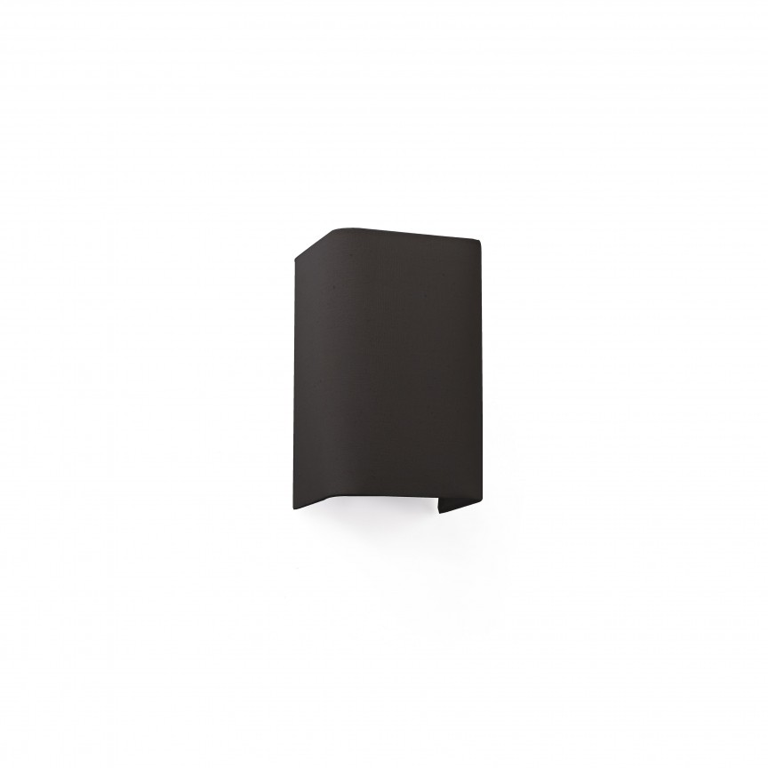Aplica de perete ambientala design modern COTTON neagra, Aplice de perete moderne,  a