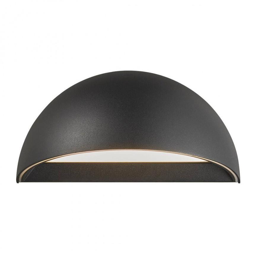 Aplica LED Smart cu senzor si conexiune Bluetooth Arcus negru 2019001003 NL, Iluminat cu senzor de miscare,  a