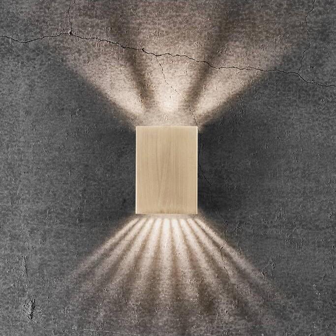 Aplica LED exterior cu iluminat up&down IP54 Fold 10 alama 2019041035 NL, ILUMINAT EXTERIOR,  a