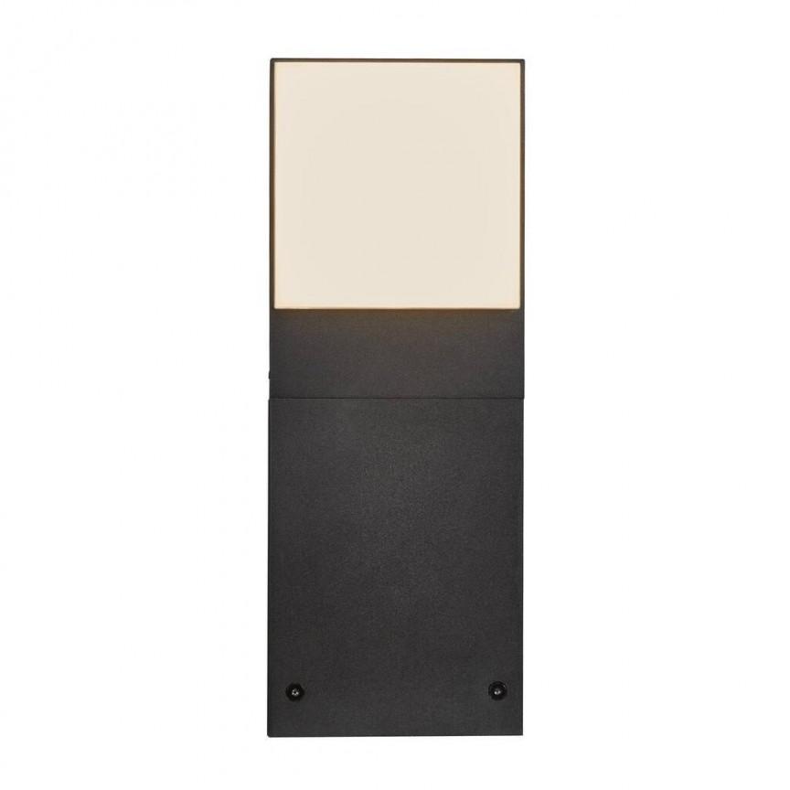 Stalp de exterior cu iluminat LED design minimalist Piana 30 2019098003 NL, Stalpi de iluminat exterior mici si medii ,  a