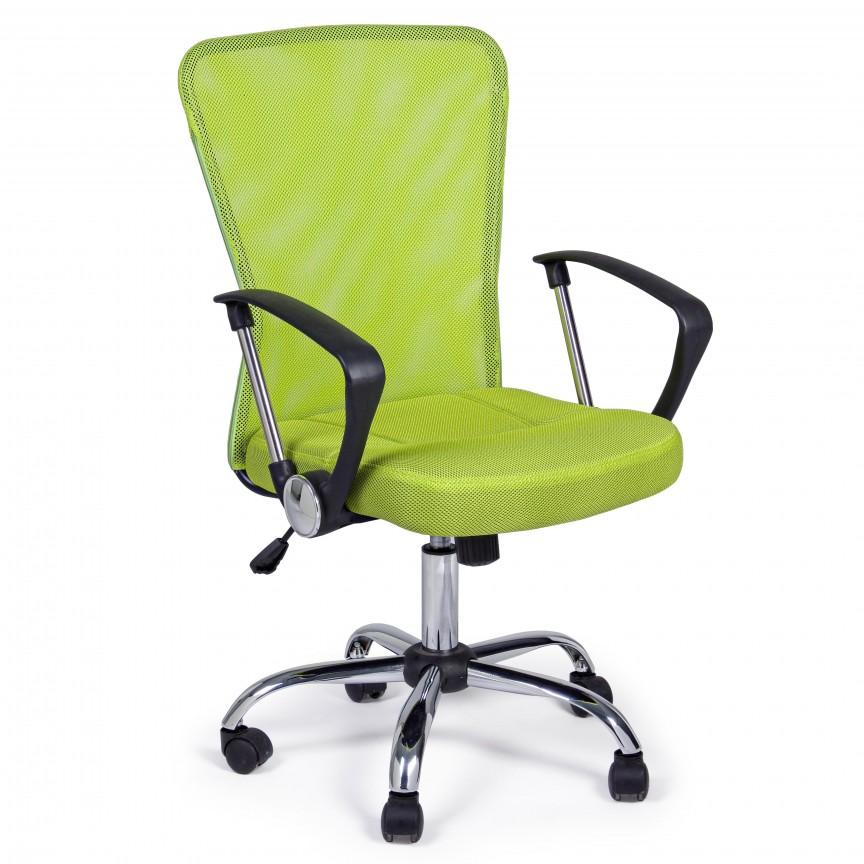 Scaun de birou pivotant BRISBANE verde 5710215 BZ, Cele mai noi produse 2020 a