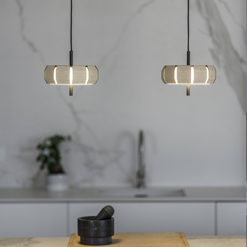 Lustra / Pendul LED dimabil design modern deosebit PHILL, ILUMINAT INTERIOR LED ,  a