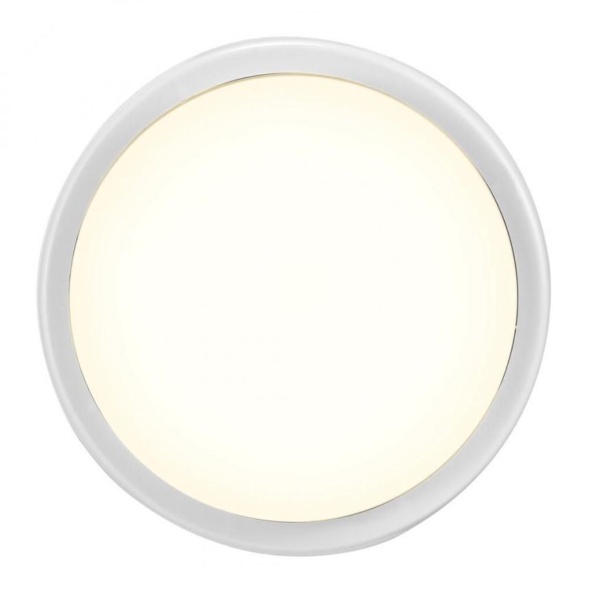 Aplica LED de perete sau tavan cu protectie IP54 Cuba Bright Round 2019171001 NL, Aplice pentru baie / oglinda / tablou, LED⭐ modele moderne rezistente la apa potrivite in baie. ✅Design premium actual Top 2020! ❤️Promotii lampi❗ ➽ www.evalight.ro. Alege oferte la corpuri de iluminat interior pt perete baie si tavan (plafon) cu protectie la umiditate, ieftine sau de lux, calitate deosebita la cel mai bun pret! a