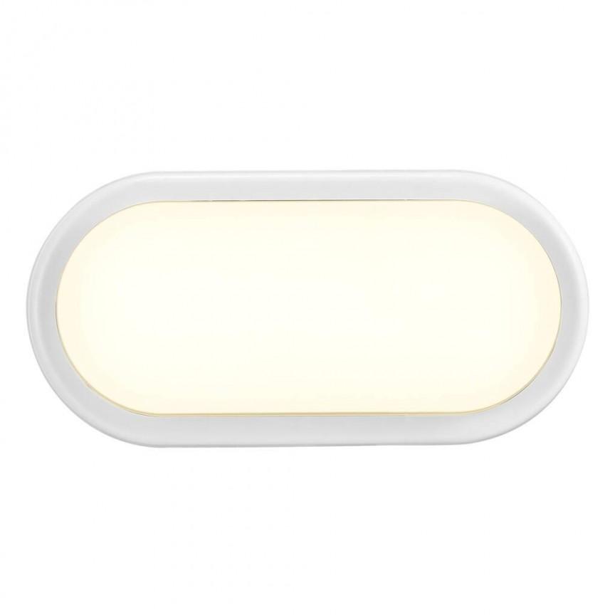 Aplica LED de perete sau tavan cu protectie IP54 Cuba Energy Oval 2019181001 NL, Aplice pentru baie / oglinda / tablou, LED⭐ modele moderne rezistente la apa potrivite in baie. ✅Design premium actual Top 2020! ❤️Promotii lampi❗ ➽ www.evalight.ro. Alege oferte la corpuri de iluminat interior pt perete baie si tavan (plafon) cu protectie la umiditate, ieftine sau de lux, calitate deosebita la cel mai bun pret! a