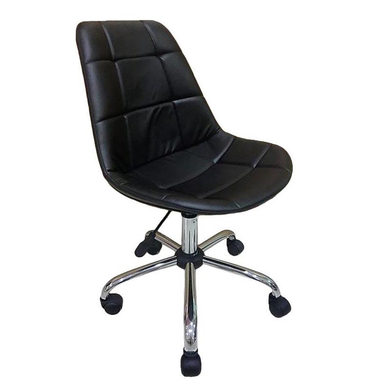 Scaun de birou design retro RELAXING negru 0710228 BZ, Scaune de birou,  a