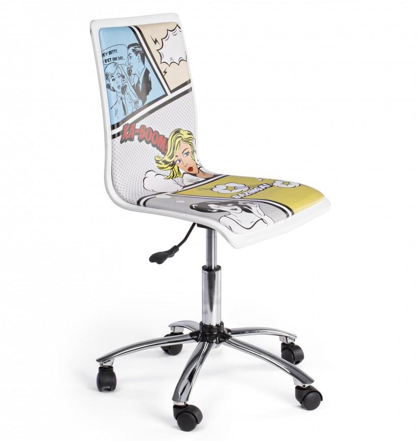 Scaun de birou copii/tineret YOUNG COMICS 0710113 BZ, Scaune de birou,  a