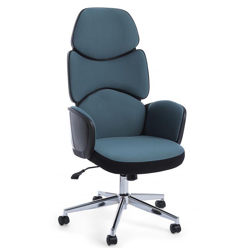 Scaun de birou design modern ARMSTRONG albastru 0710480 BZ, Scaune de birou,  a