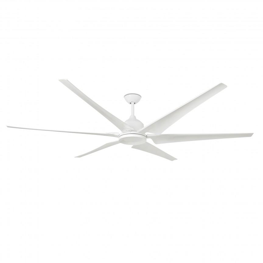 Ventilator de tavan cu telecomanda design modern CIES alb, Cele mai noi produse 2020 a