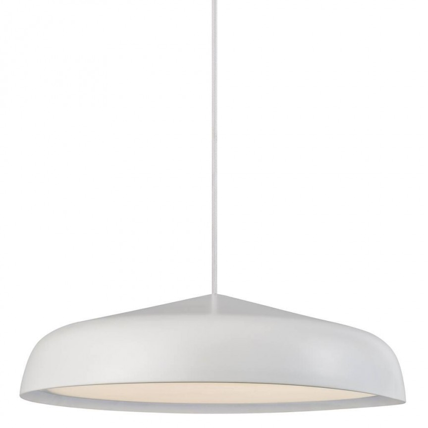 Lustra LED, Pendul design modern minimalist Fura 40 alb 48113001 DFTP, Lustre LED, Pendule LED,  a