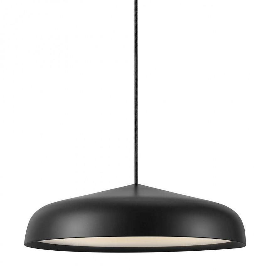 Lustra LED, Pendul design modern minimalist Fura 40 negru 48113003 DFTP, Lustre LED, Pendule LED,  a